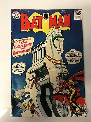 1957 Batman Dc Comics #105 Batwoman 1St Apperance In Series Key Issue Comic Book