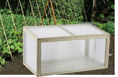 WOODEN COLD FRAME Mini Pressure Treated Timber Outdoor