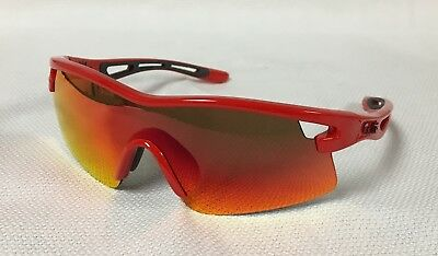 Bolle 11823 Vortex Red Sunglasses With Case New