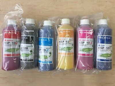 Brand New Dye Sublimation Ink - All 6 Colors C,M,Y,K, LM, M