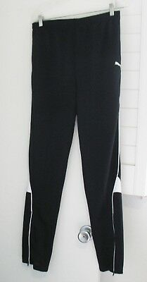 Puma Boys Tapered Soccer Pants Puma Black Sz XL - NWT