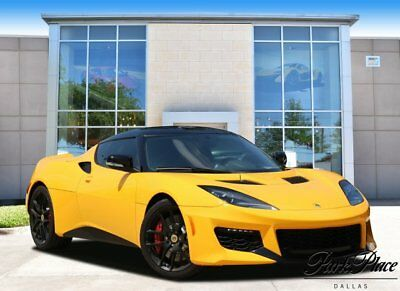 2017 Lotus Evora  2017 Coupe Used Supercharger Premium Unleaded V-6 3.5 L/211 Manual RWD Yellow