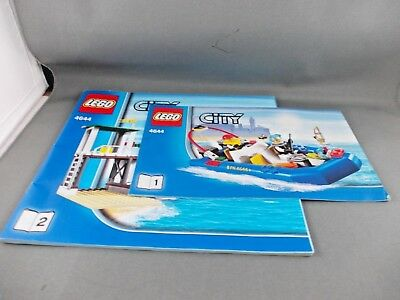 Lego City Instructions Only # 4644  Marina Harbour City