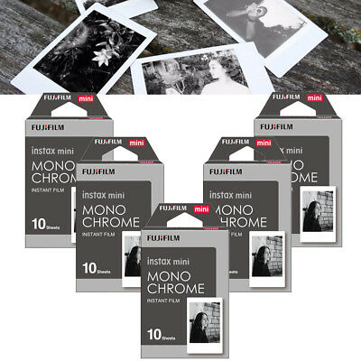 Monochrome Fujifilm Instax Mini 8 Mini 9 Film Instant Camera Photos B&W Sheets