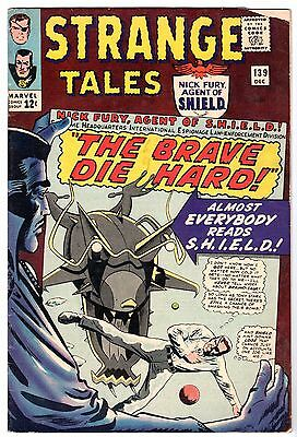 Strange Tales #139 with Dr. Strange & Nick Fury Agent of SHIELD, VG - Fine Cond'
