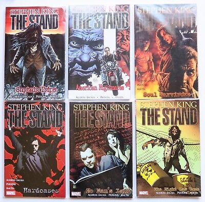 Stephen King's The Stand Vol. 1 2 3 4 5 6 NEW Marvel Graphic Novel Comic Book