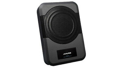 """Alpine PWE-S8 Compact Powered 8"""" Subwoofer System - Ex Demo Stock"""