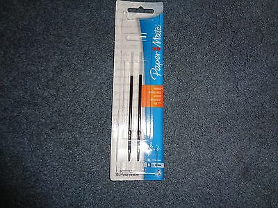 Paper Mate Profile Retractable Ball Point Pen Refill in Bold Black 1.4mm NEW