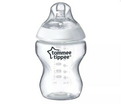 Tommee Tippee Closer to Nature Anti-Colic Slow Flow 0m+ Baby Bottle 9oz NEW