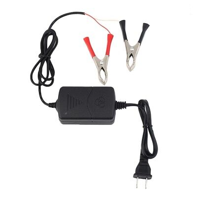 Car Motorcycle ATV 12V/1.2A Portable Multi-mode Battery Charger Black 15W YG
