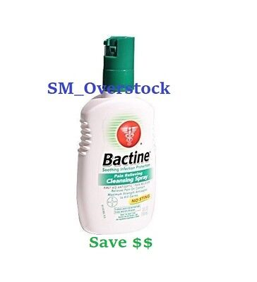 2 Bottles - Bayer Bactine Pain Relieving Cleansing Spray 5 oz FAST shipping
