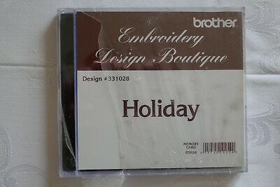 Brother Stickkare Holiday Embroidery Design Boutique 10 x 10 cm