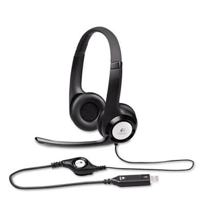 Logitech h390 Headset with Noise-Cancelling Mic & Plug-and-Play USB