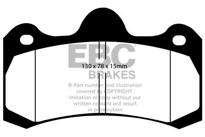 EBC Yellowstuff Rear Brake Pads for Holden HSV (Aus/NZ) E AP (2006 > 13)