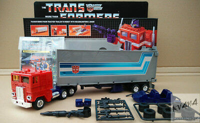 Transformers Reissue G1『OPTIMUS PRIME』NEW Version MISB