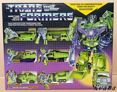 Transformers『DEVASTATOR』reissue G1 Giftbox Set MISB