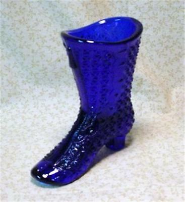 Mosser Cobalt Blue Glass High Top Boot