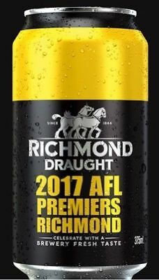 Richmond Draught Can - Full - Lmtd Edtn Richmond Premiership Draught Beer