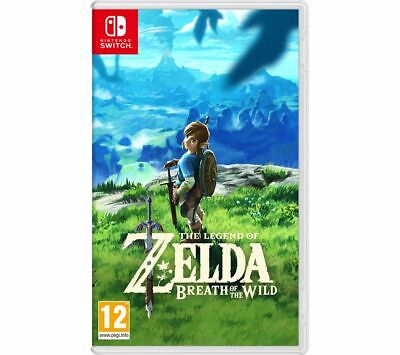 NINTENDO SWITCH The Legend of Zelda: Breath of the Wild - Currys