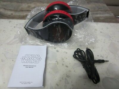 Star Wars The Last Jedi Wireless Headphones * Official Genuine Movie Promo * NEW