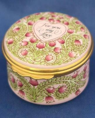 HALCYON TRINKET BOX VALENTINE'S DAY 1993 For You My Love