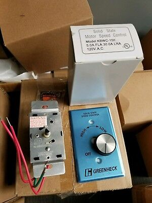 KB Electronics KBWC-15K Solid State Variable Speed Motor Control 5 Amp FREE SHIP