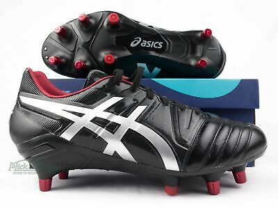 a147aabd2021 NEW Asics Gel Lethal Tight Five Football Boots - Black   Silver   Red
