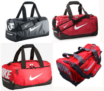 NIKE TEAM TRAINING Max Air Small Duffel Bag BA4897 Shoulder Strap Duffel  Gym Bag 730f11728c5aa