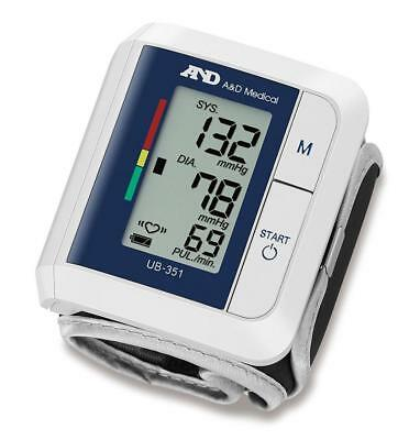 A&D Medical AND-UB-351 Lightweight & Compact Design Wrist Blood Pressure Monitor