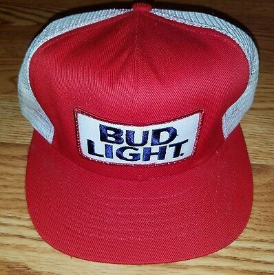 BUD LIGHT Snapback Flatbill SWINGSTER Hat Cap Rare Beer Collectible Party Retro