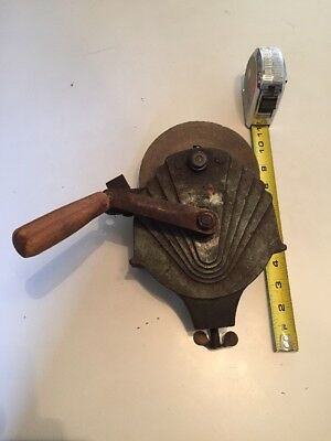 vtg general hand crank bench grinder farm shop kitchen tool knife Clamp On !!!!!