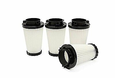 4 Pack for Dirt Devil F2 HEPA Vacuum Filter 3SFA11500X. By Green Label