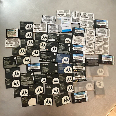 Lot of 59 Motorola Brand Mobile Phone Batteries - Over 3lbs - FREE SHIPPING