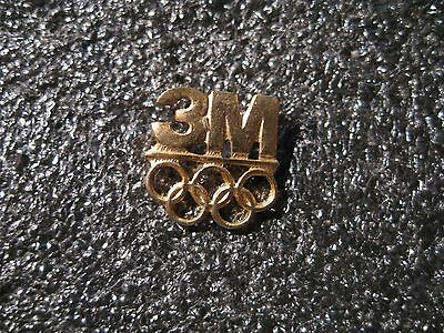 PIN'S 3 M  JEUX OLYMPIQUES  (ref 077)
