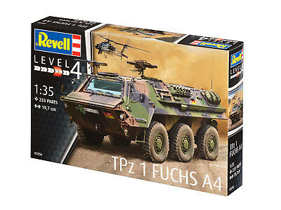 revell modellbausatz panzer 1 35 tpz 1 fuchs a4 im. Black Bedroom Furniture Sets. Home Design Ideas