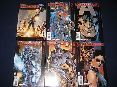 The Ultimates Complete Run Volumes 1 2 & 3 Annuals Marvel Comics (33 Issues)