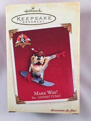 Tasmanian Devil Taz Hallmark Looney Tunes Make Way! Keepsake Ornament
