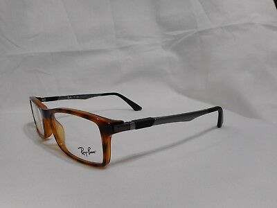 710a2b63b59 Brand New 100% Authentic Ray-Ban RB7017 5687 RX7017 Eyeglasses Frame 52MM