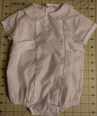 Free shipping VINTAGE BABY Boy ONSIE CLOTHES OUTFIT White Bryan EVC! 1960's-70's