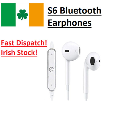 Wireless Bluetooth 4.0 Headphone Earphones Headset Mic for iPhone 7 8 X Samsung
