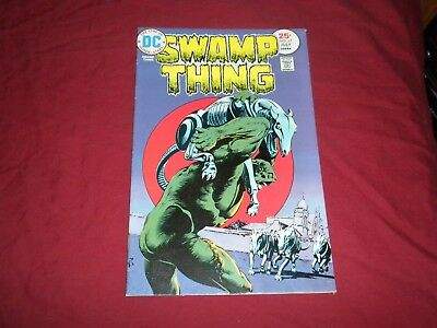 Swamp Thing #17 dc 1975 bronze age 8.5/vf+ comic! Lots of Swamp Thing listed!!!!
