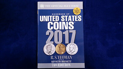 Handbook of United States Coins: 2017 THE OFFICIAL BLUE BOOK! Whitman