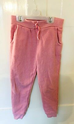 Lovely Pink John Lewis Tracksuit Jogging Trousers Age 5-6