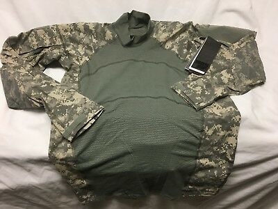 Genuine Us Military Issue Army Combat Shirt Fire Resistant New Free&fast Shiping