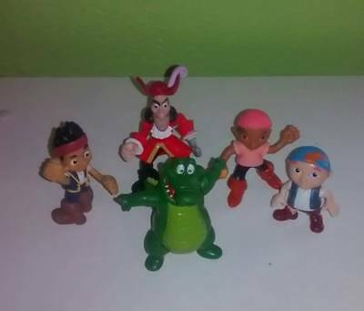 Disney Jake and the Neverland Pirates PVC Figures Toy