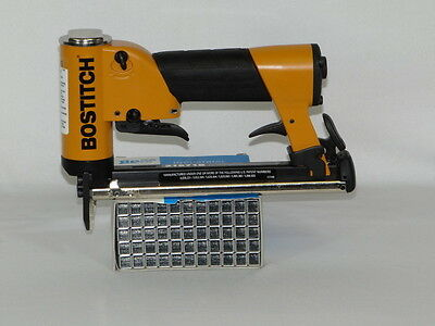 Upholstery Air Stapler, Bostitch 21671B Stapler, Industrial & 20,000 Staples