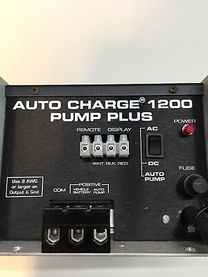 Kussmaul Auto Charge 1200 Pump Plus Battery Charger 12V 40 Amps