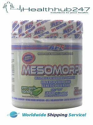 Aps Mesomorph Original Formula  Dm2A Preworkout Green Apple Express Delivery