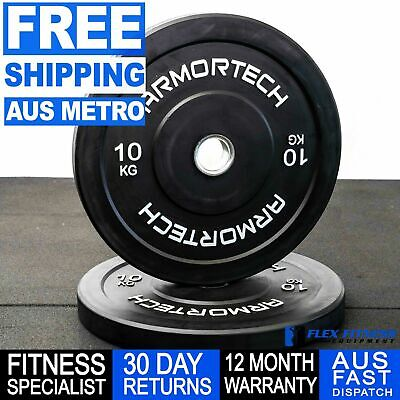 Olympic Bumper Plate Single 5-25kg Strength Exercise Fitness weightlifting gear