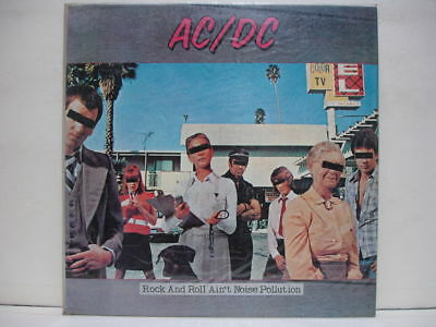 AC/DC ROCK AND ROLL AIN'T NOISE DIFF 10TRACK 1981 LP PICTURE & LYRIC W/IN Sealed